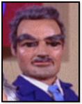 Man in dark blue uniform