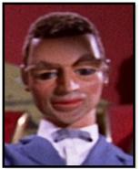 Man in gray suit. Fireflash Passenger