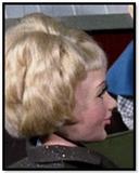 Blonde lady (fashion show)