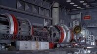 Ocean Pioneer Steam Turbine Power Plant And Atomic Reactor