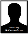 Voice only male