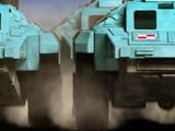 GDF Armoured Car