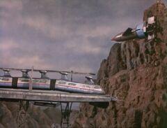 Monorail crash