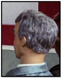 Man with grey hair and grey suit