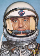 Alan Tracy was named after Mercury 7 Astronaut Alan Shepard who was also the very first American in Space