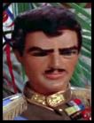Man in blue sash