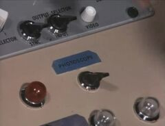 Periscope control panel 2