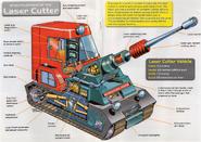 Laser cutter (cutaway)