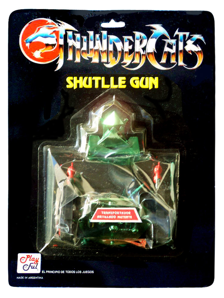 Playful Toyline: Evil Shuttlegun