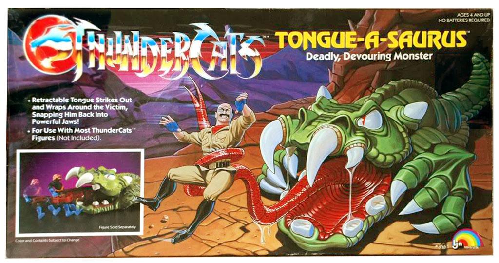LJN Toyline: Tongue-A-Saurus