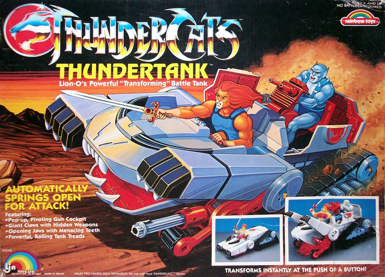 LJN Toyline: Thundertank