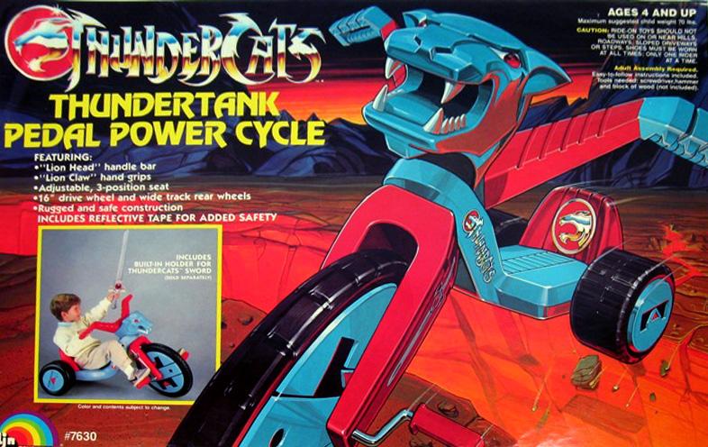 LJN Toyline: Big Wheel Pedal Bike
