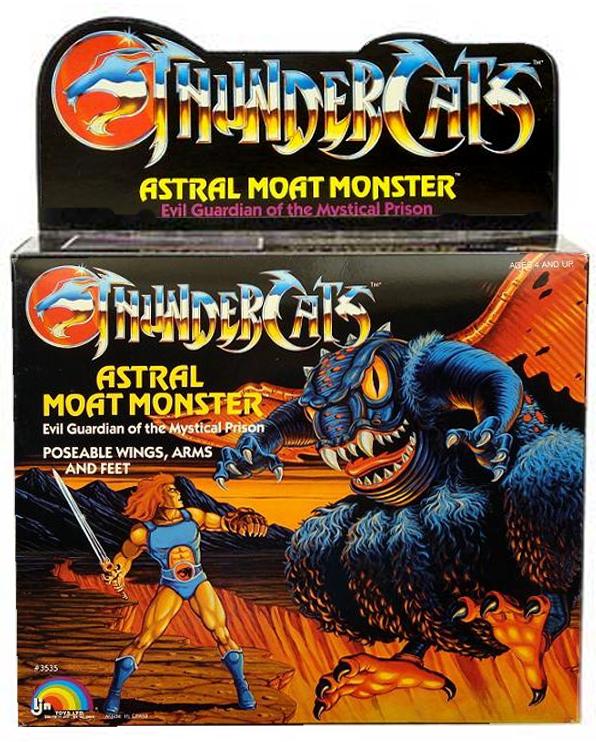 LJN Toyline: Astral Moat Monster