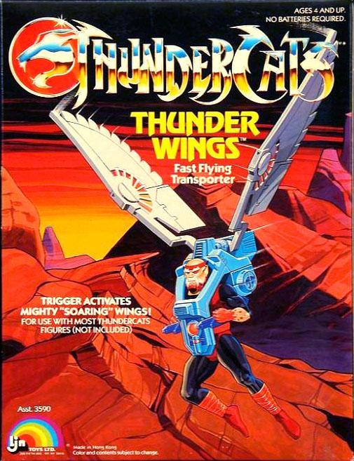 LJN Toyline: Thunderwings
