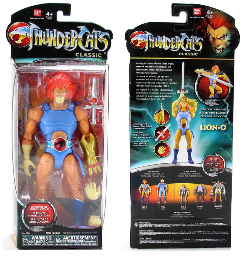 """Bandai Toyline: Lion-O 8"""" Classic"""