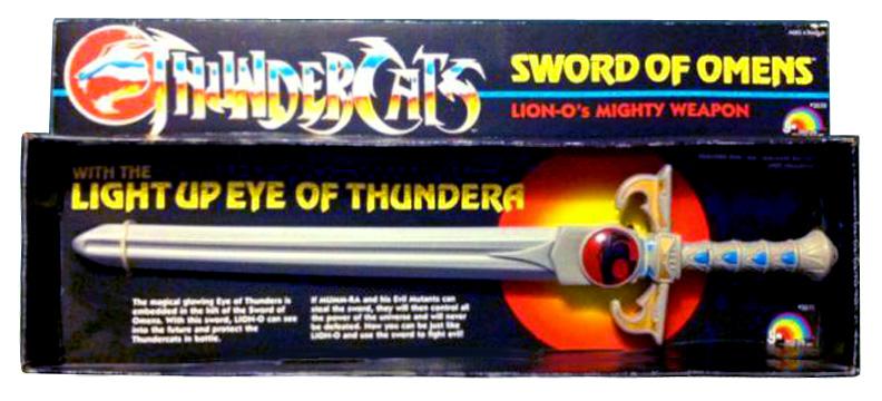 LJN Toyline: Sword of Omens