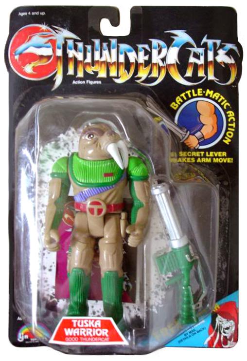 LJN Toyline: Tuska Warrior