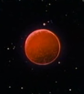 Planet of the Red Sun