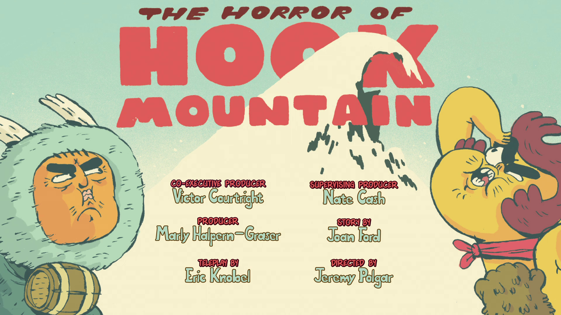 The Horror of Hook Mountain