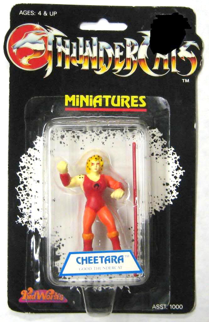 Kidworks Toyline: Cheetara