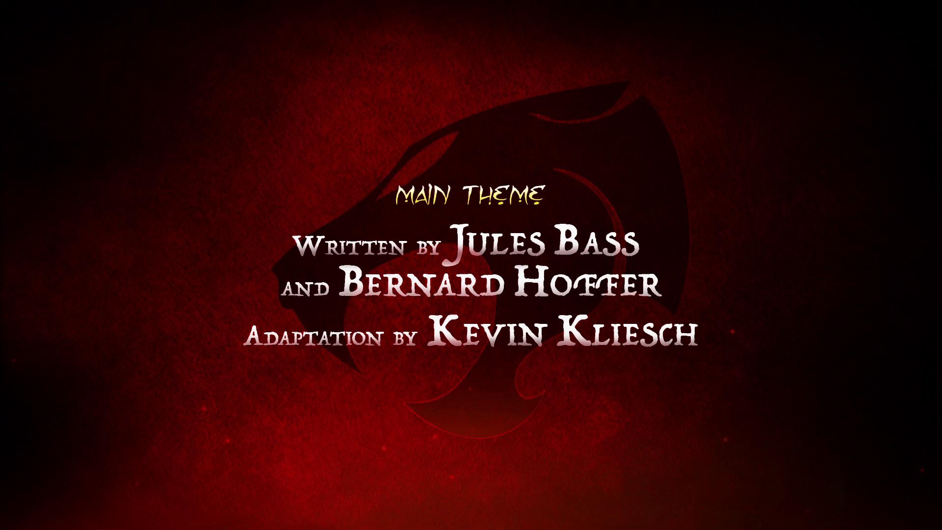 ThunderCats (2011 TV series) Crew Credits
