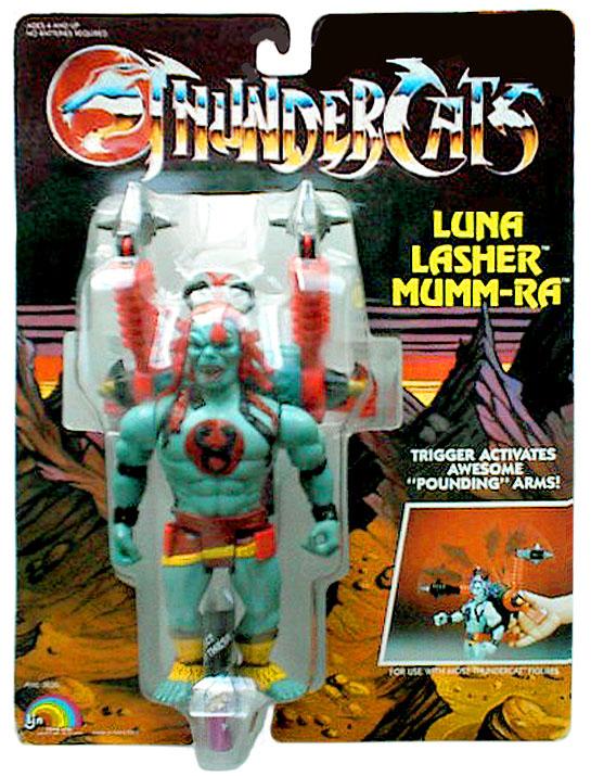 LJN Toyline: Luna Lasher Mumm-Ra