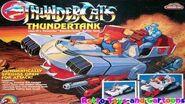 Thundercats Thundertank Ljn Commercial Retro Toys and Cartoons