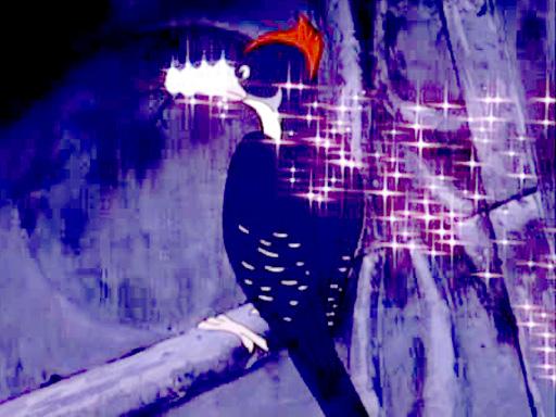 Diamond Beaked Woodpecker