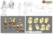 Original Concept Designs 2011 - Cheetara - 001