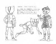 Original Concept Art - WilyKat - 001