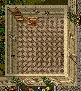 +1 floor, entrance