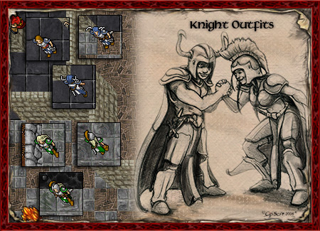 Knight Outfits