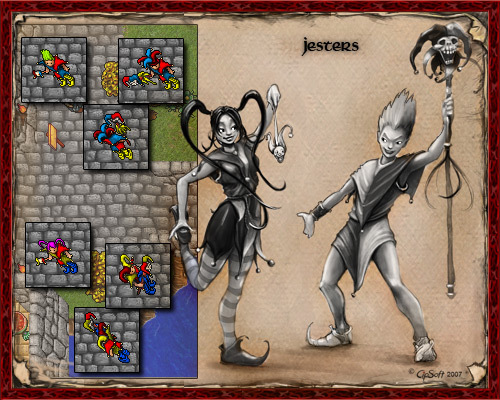 Jester Outfits