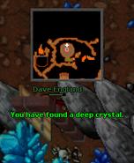 Deep Crystal Location