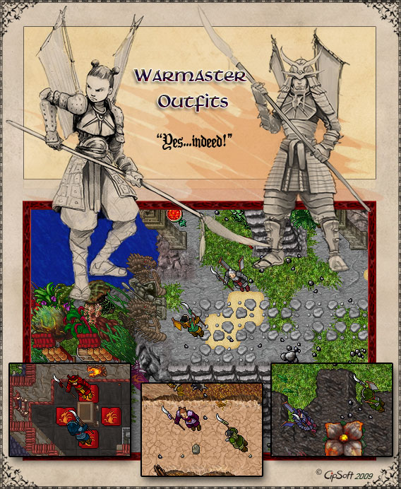 Warmaster Outfits