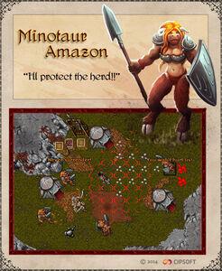 Minotaur Amazon