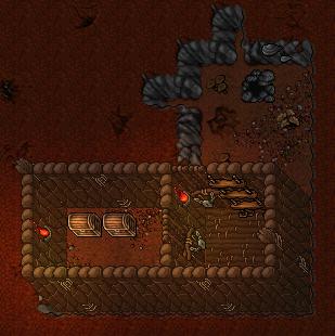 Second basement floor, underground entrance/exit
