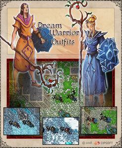 Dream Warrior Artwork