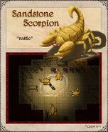 Sandstonescorpion