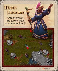 Worm Priestess