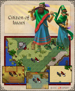 Citizen of Issavi Outfits Artwork