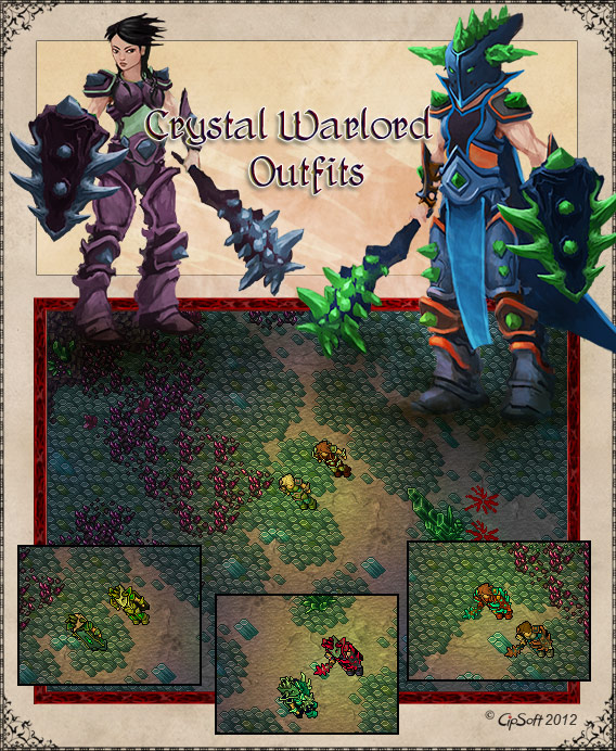 Crystal Warlord Outfits
