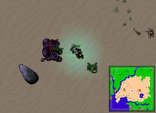 Location of Demon Mother in the Jakundaf desert.