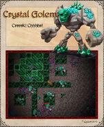 Crystal Golem teaser