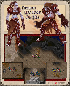 Dream Warden Outfits