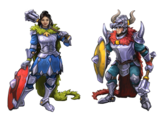 Dragon Knight Outfits