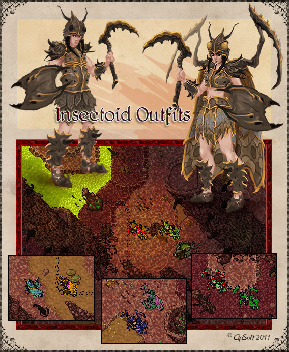 Insectoid Outfits