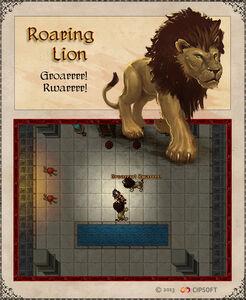 Roaring Lion Artwork