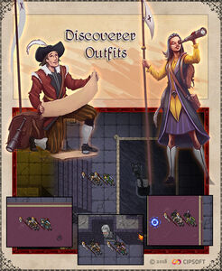 Discoverer Outfits Artwork