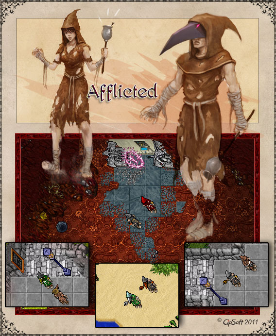 Afflicted Outfits